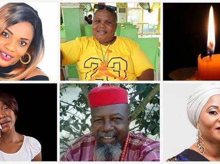 20 Dead Nollywood Actors we Still Miss Till This Day