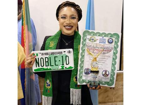 Tonto Dikeh have been honoured for her service to humanity. (A motivating story)