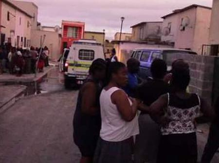 Residents of Samora Machel were left traumatized after a robbery went horribly wrong