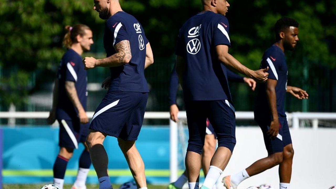 VIDÉO : les Bleus préparent leur premier match contre l'Allemagne