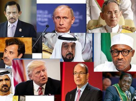 Top 10 Richest Political Leaders In The World At 2021, Check If Buhari Is Included