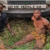 See Armed Robbers Arrested By Police on Lagos-Ibadan Expressway