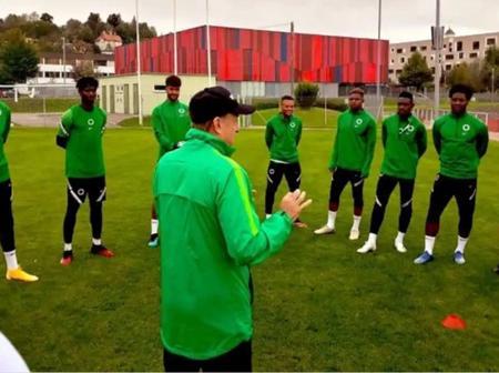 AFCON: Adepoju, Udeze Disagree On Players Invitation For Sierra Leone Clash