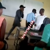 Video: Class in Chaos as a UNIUYO engineering Student Harasses his Lecturer during a Lecture