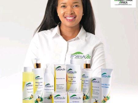 Meet - Portia Mngomezulu, founder and CEO of Portia M Skin Solutions
