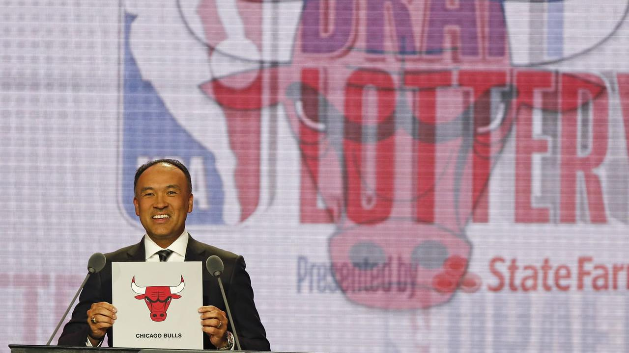Bulls hoping lottery odds will smile on them Tuesday night