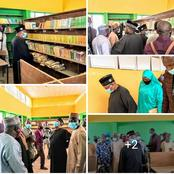 Check out photos of A Girls Secondary School library In Bauchi State