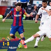 Opinion: After Claiming to be the best, Lionel Messi has Failed to score again in El Clasico