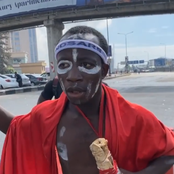 Video: See What this man who dressed like a native doctor said about SARS and Jesus Christ