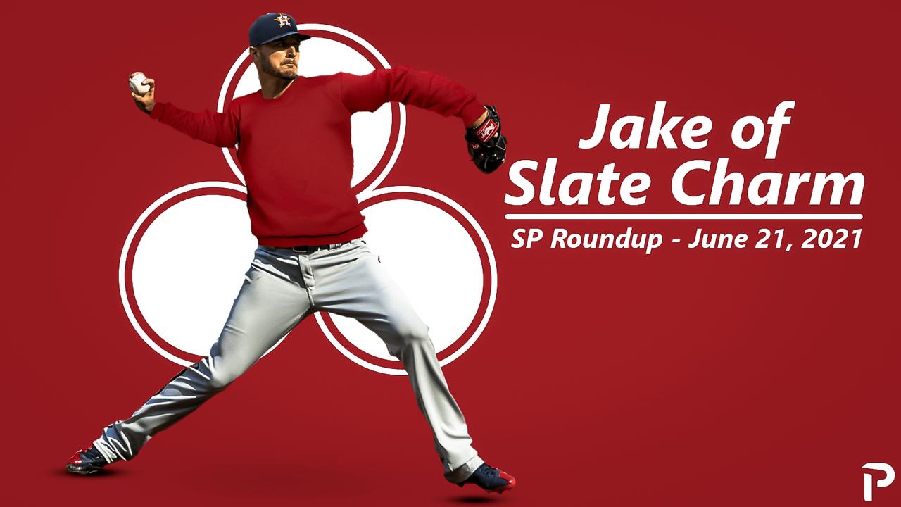 Jake of Slate Charm