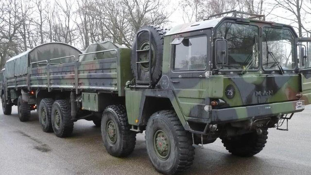 Kreis beschafft Militär-Laster für den Katastrophenschutz - KIRCHHEIMBOLANDEN