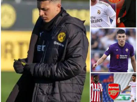 News Of The Day: Latest Update on Sancho, Man u, Arsenal and others