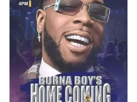 5 interesting facts about Burna Boy's homecoming concert you never knew of. No 2 is surprising