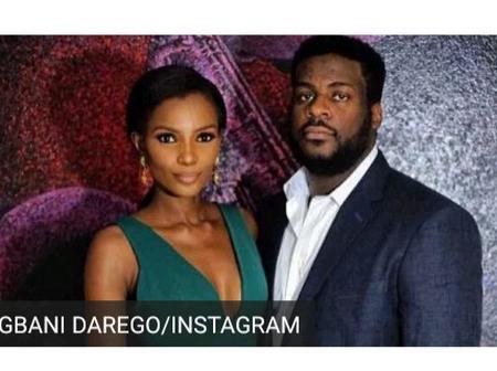 Ishaya Danjuma And 2001 Miss World Winner Agbani Darego Welcome Their Second Baby