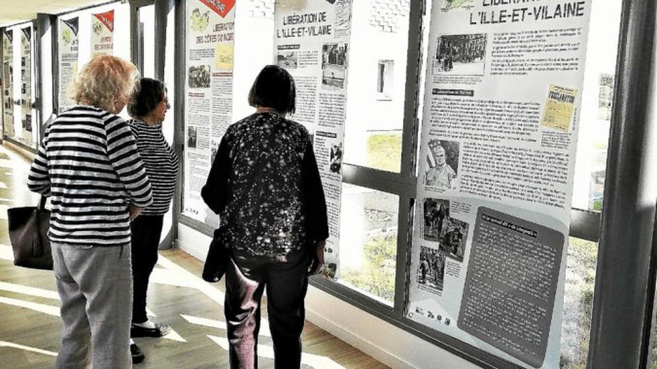Libération de la Bretagne: une exposition à Menez Kergoff jusqu'au 10septembre