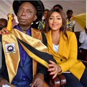 Stop blasting Regina Daniels for marry an old man - meet a young lady whose husband is older.
