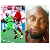 Remember Femi Opabunmi who played for Nigeria in the 2002 world cup? See what he looks like now