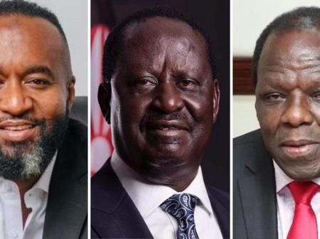 ODM: Battling For Presidential Ticket Between Joho, Oparanya and Odinga.