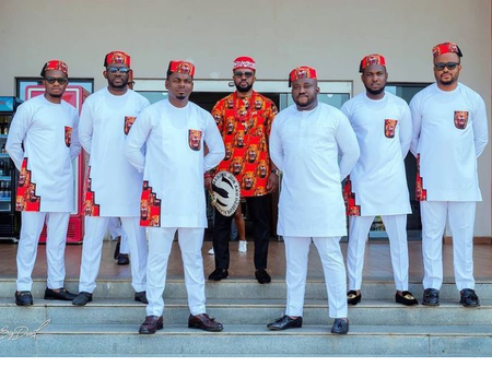 Can Your Groomsmen Ever Slay Like Those Of Williams Uchemba? See Photos