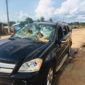 Manifestations à Bangolo : le véhicule du président du Conseil régional du Guémon saccagé