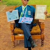 Hardwork always pays off, have you seen the young handsome grade 12 who has too many certificates?