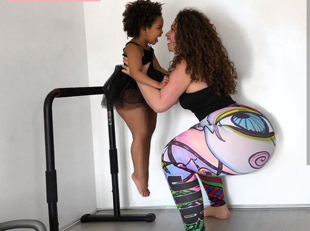 Check Out These Beautiful Pictures Of A Lady And Her Family
