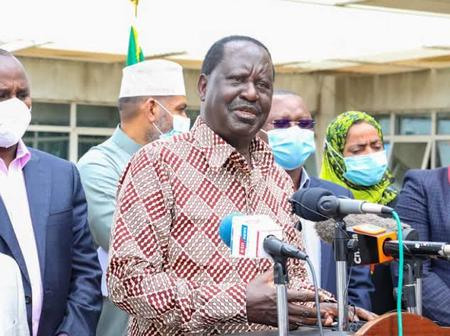 Temperatures High in Jubilee Over Corruption After ODM Party Leader Makes Worrying Statement Today