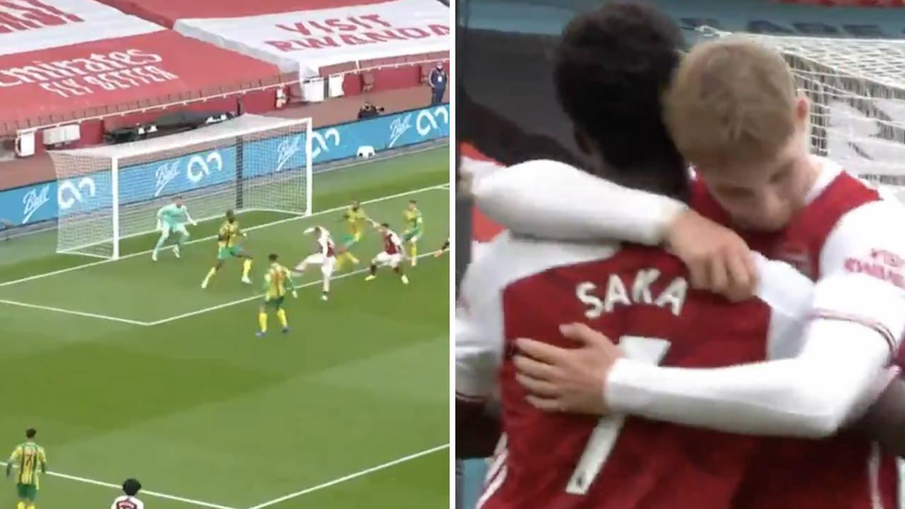 Arteta challenges Smith Rowe to add goals after breaking league duck