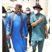 Days after he was arrested in Owerri, see what Okorocha was spotted doing in Rivers State