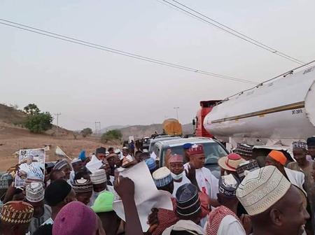 Crowds welcome National President of Fulani Herdsmen In Taraba State [Photos]