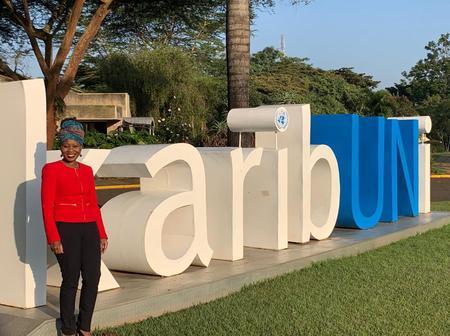 Karibu Nyumbani! Jubilations As Former Powerful IEBC Commissioner Jets Back To The Country