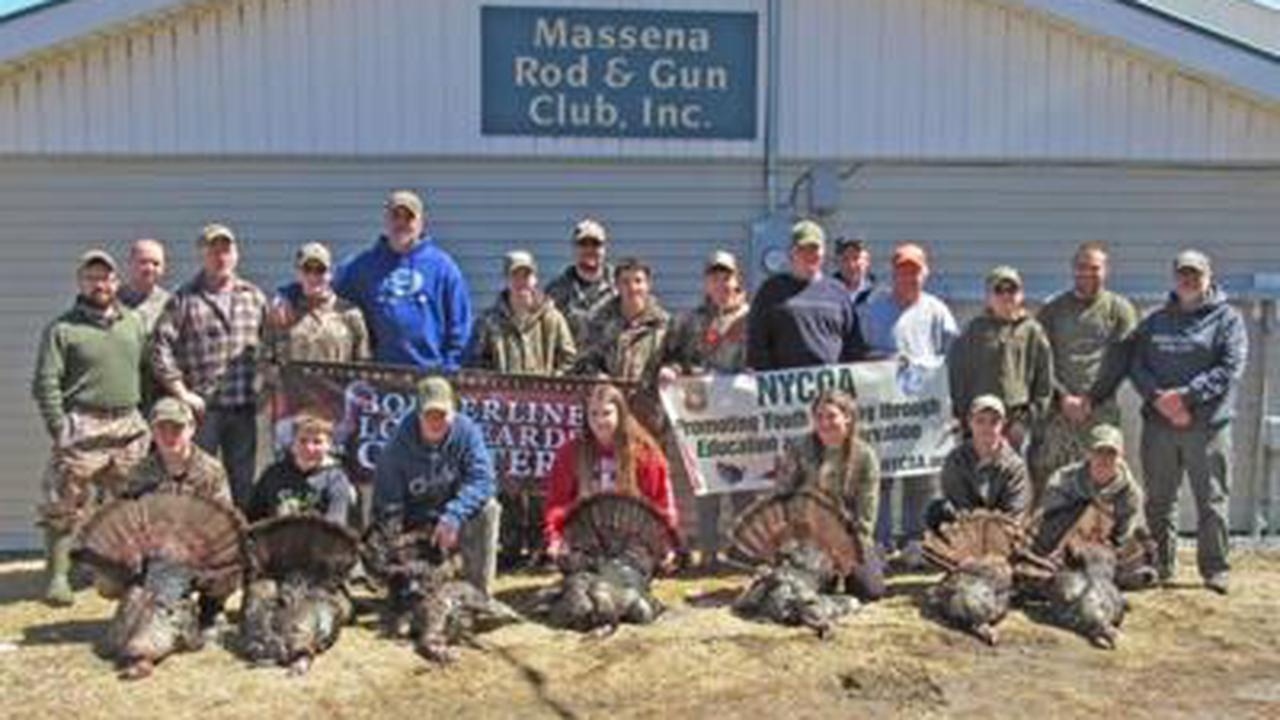 Spring turkey hunts for teens to be hosted by DEC in Massena, Sackets Harbor