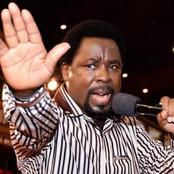 Reactions On Social Media As Pastor TB Joshua's YouTube Channel Is Suspended