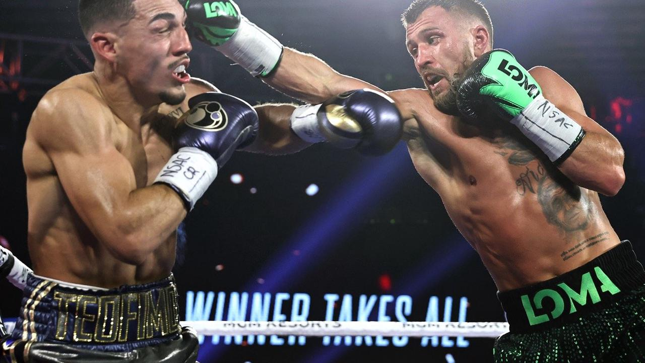 Teofimo Lopez: Lomachenko beats every other guy at 135