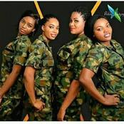 Would You Agree to Marry A Military Lady If Given the Opportunity? (See Photos)
