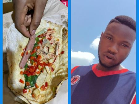 After I Ordered for Shawarma from a Vendor in Ibadan, See What I Saw Inside - Man