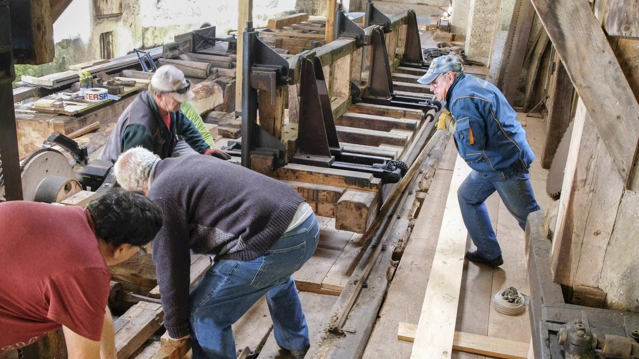 Valjouffrey. La scierie des Sigoins, restaurée par Mémoire battante, se visite ce week-end