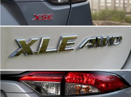 Did you know the meaning of LE, XLE, SE found in Toyota cars? If No, This is what they mean