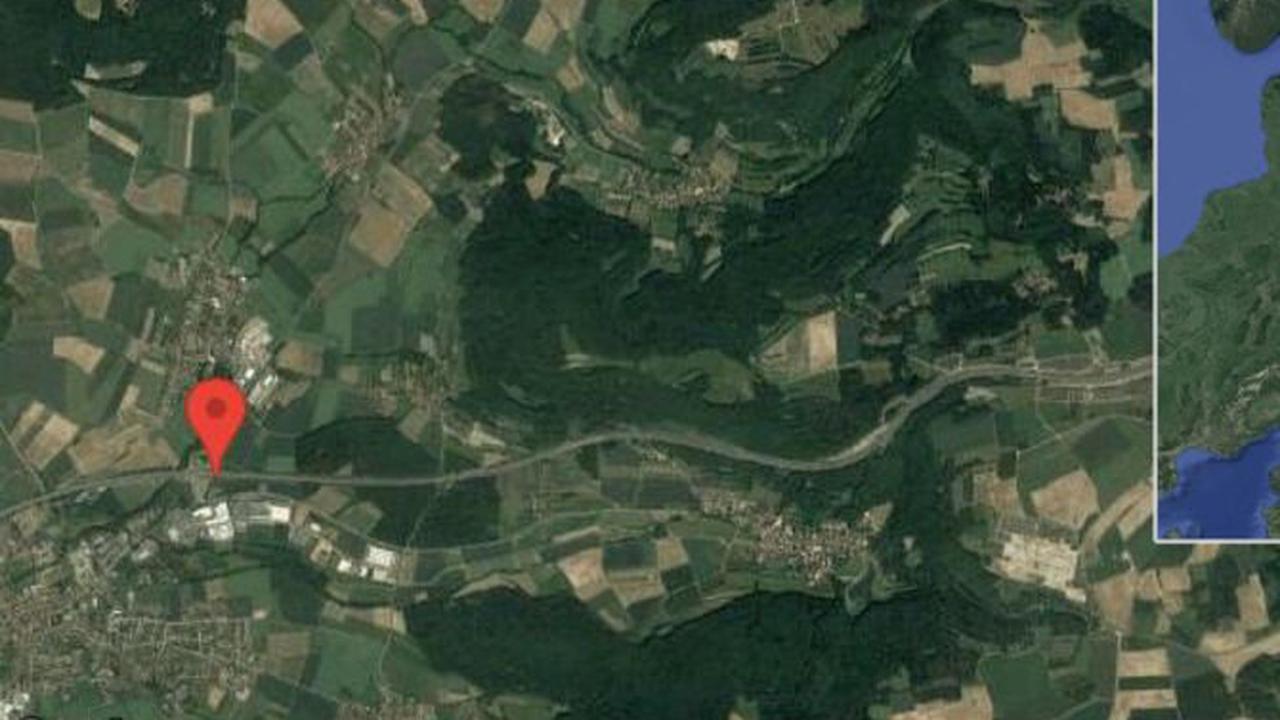 Scheßlitz: Gefahr durch Gegenstand auf A 70 zwischen Scheßlitz und Roßdorf am Berg in Richtung Bayreuth