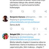 Ukicheza Nje Ya Ndoa, Ni Poa Usema Ama Ukanyangie ? Kenyans Share Their Thoughts