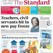 It's A Blow To Teachers As The Government Rejected Ksh 68 billion For July Payrise