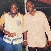 Big Boys : Throwback Picture Of Ibrahim Mahama And Randy Abbey.