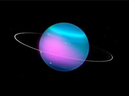 Puzzling X-beams Are Erupting Out Of Uranus