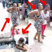 People are surprised to what this husband did to his pregnant wife on the streets, impressive