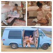 Meet Jane, The Lady Who Has Been Living In A Van With A Pet Snake For The Past Three Years (Photos)