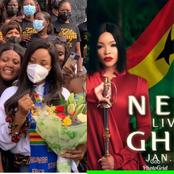See Photos Of Erica In Ghana As Nengi Is Set To Visit Ghana Next Week