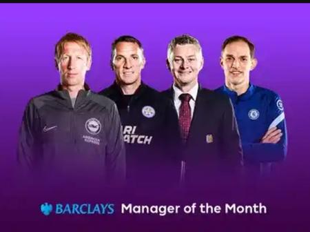 Premier League manager of the month award - Chelsea and Man United coach shortlisted for the award