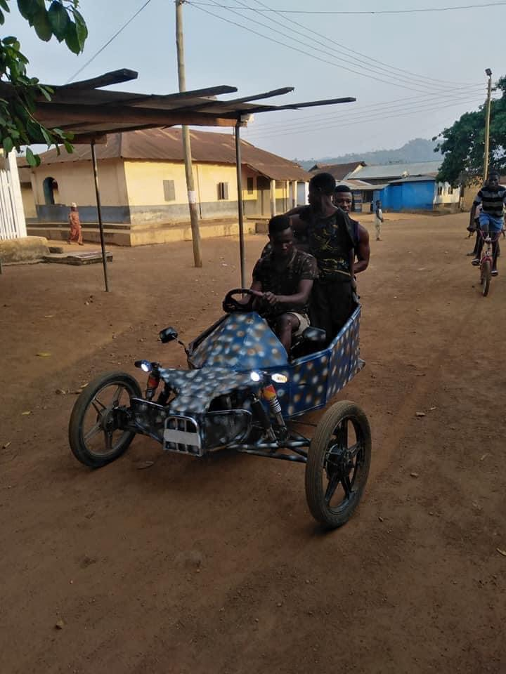 4d97ae862d2a49748473be60e18079a8?quality=uhq&resize=720 - Ghana Got Talent! Young Guy Builds His Own 'Three-Wheel Roadster', Beautiful Photos Drop