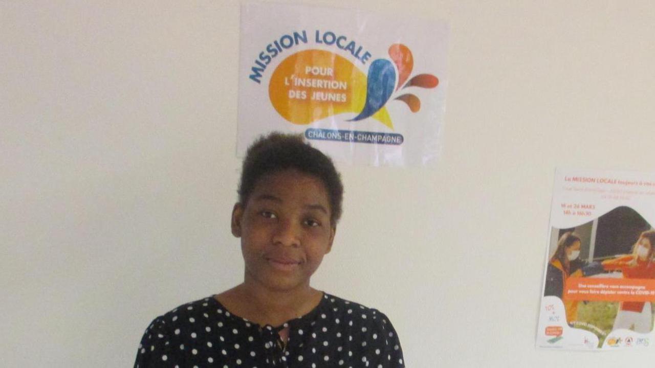 Claudia, de Châlons, rêve d'une formation dans la communication