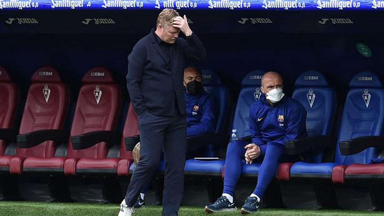 Ronald Koeman has eight-man Barcelona headache involving Messi and Aguero